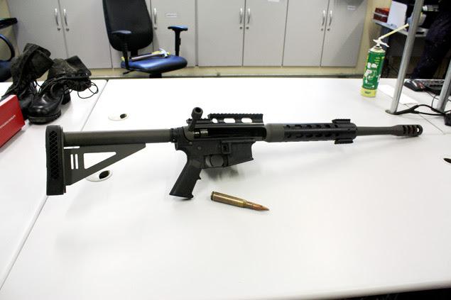 Polícia apreende metralhadora antiaérea em oficina na zona norte de São Paulo; arma teria sido usada em assalto no interior