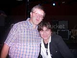 me and Mark Burgess of the Chameleons