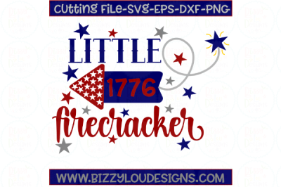 Download Little Firecracker Svg Dxf Eps Png Cutting File Free
