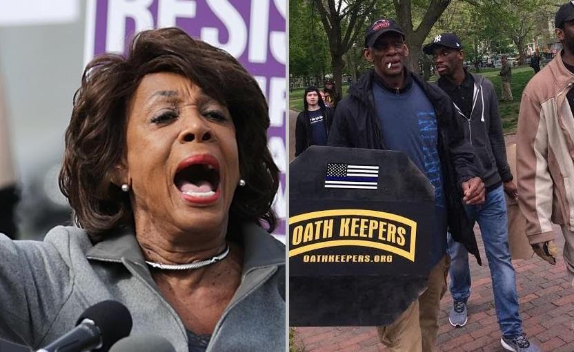 Image result for LAPD Warns Protesters They'll Run Away As Maxine Waters Supporters Threaten Them With Pipes & Baseball Bats