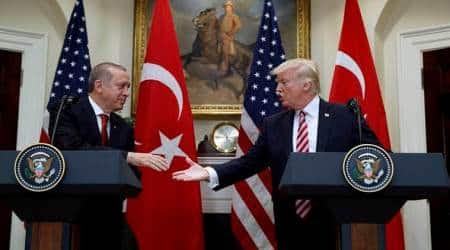 Trump, Erdogan discuss Syria overphone