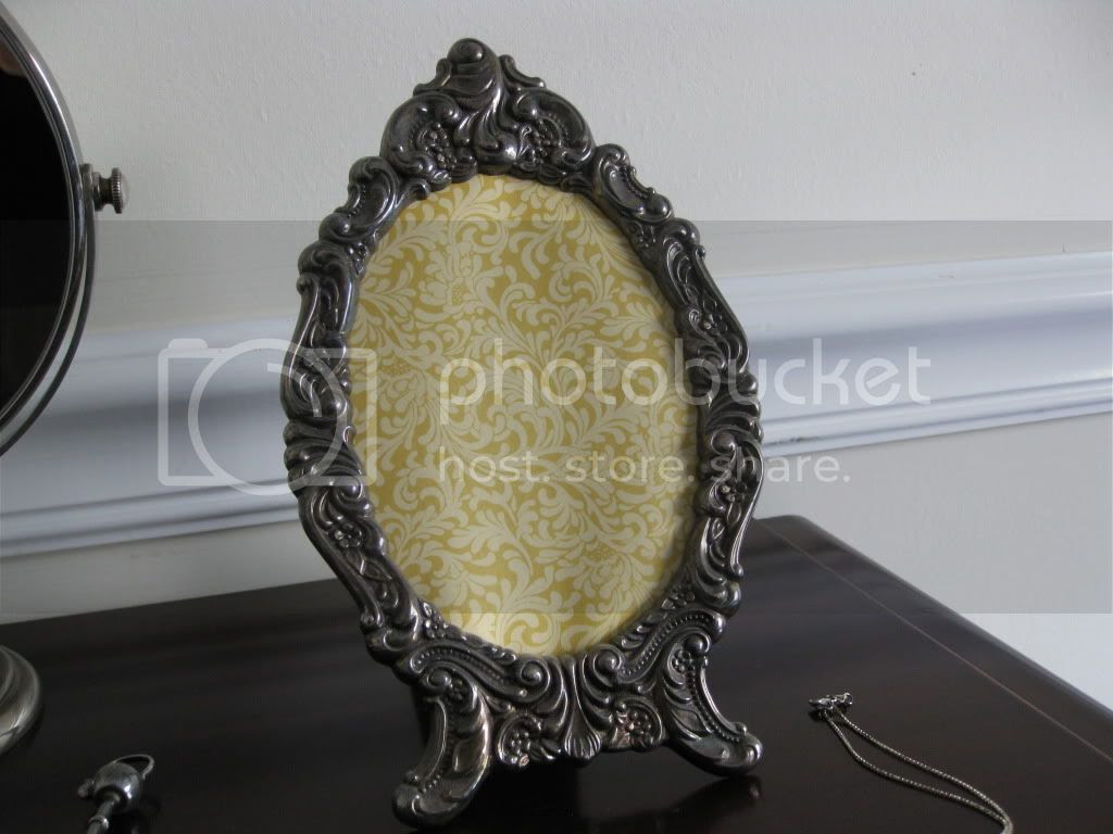 Baroque Mirror and Frame