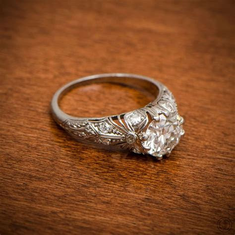 25  best ideas about Edwardian Engagement Rings on