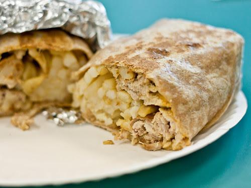 Chicken San Diego burrito