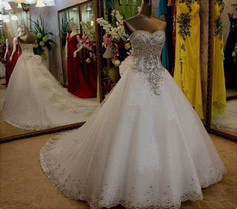 Elegant Most Expensive Wedding Gown In the World