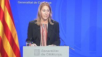 La portaveu del govern català, Neus Munté