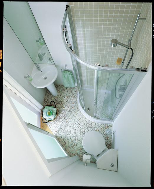 Space Saving Shower Room