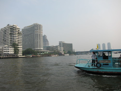 Views from the Chao Phraya river