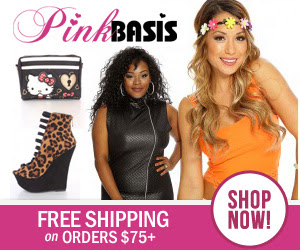 Free Shipping on orders $75+ at PinkBasis.com!  Shop now!