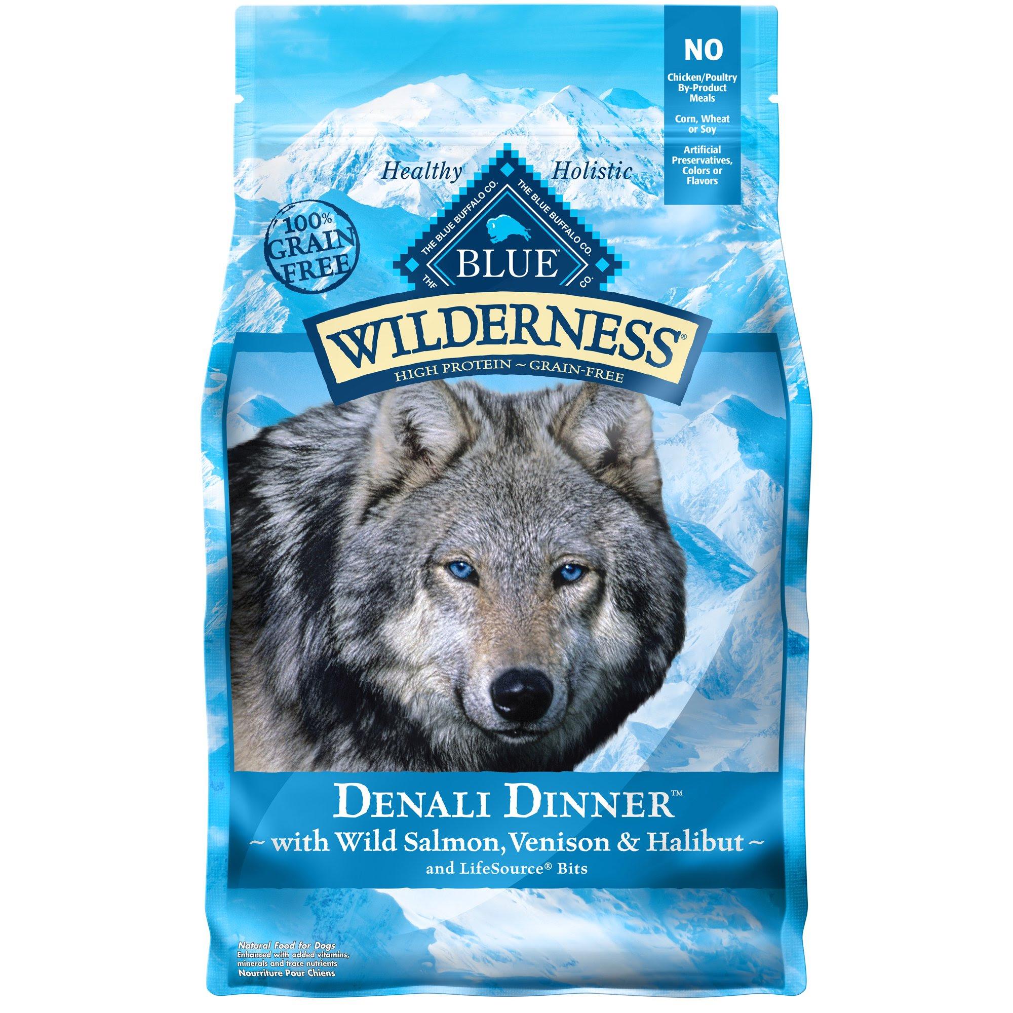 Blue Buffalo Wilderness Denali Dinner Dry Dog Food | Petco