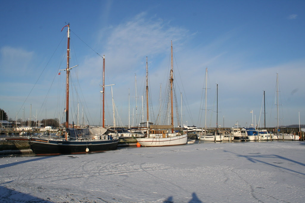 Ships in Roskilde Harbour