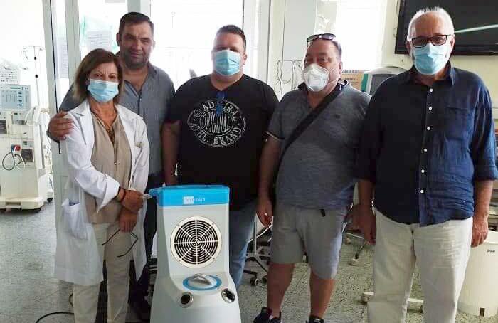 Άρτα: Δωρεά συστήματος ρομποτικής απολύμανσης στο ΓΝ Άρτας από το Σωματείο Αρτοποιών