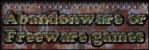 Abandonware or Freeware games you can download & play for free.