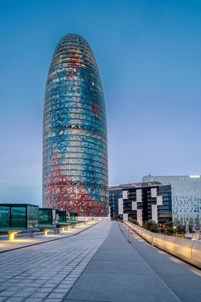 2014 Pic(k) of the week 6: Torre Agbar - Barcelona (Spain)