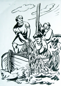 pescuirea minunata