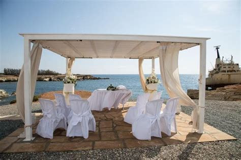 Civil Wedding Venues Paphos Wedding Beach Cyprus   Wedding
