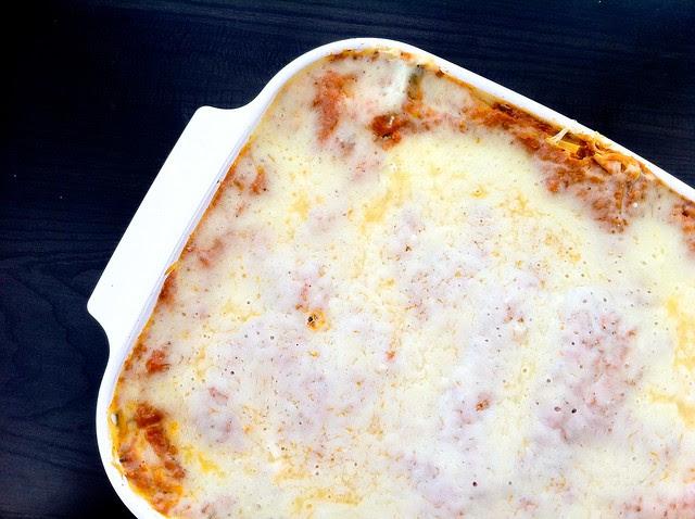 Spinach and Leek Lasagna