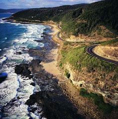 Pemandangan Great Ocean Road, Australia
