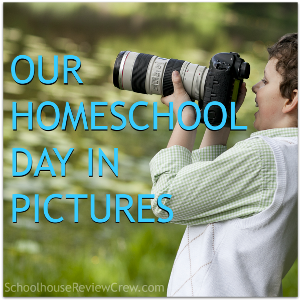 Our Homeschool Day in Pictures