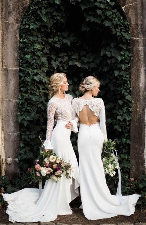 20 Stunning Open & Low Back Wedding Dresses For 2017