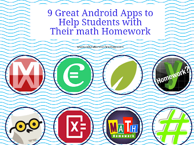 9 Great Android Apps to Help Students with Their math Homework