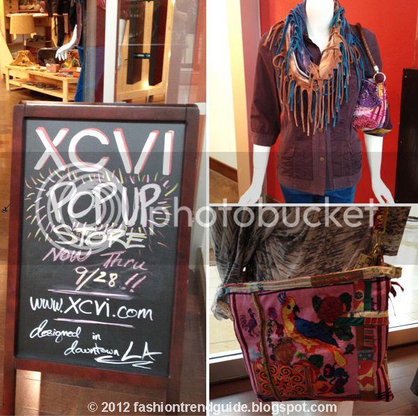 xcvi pop-up store