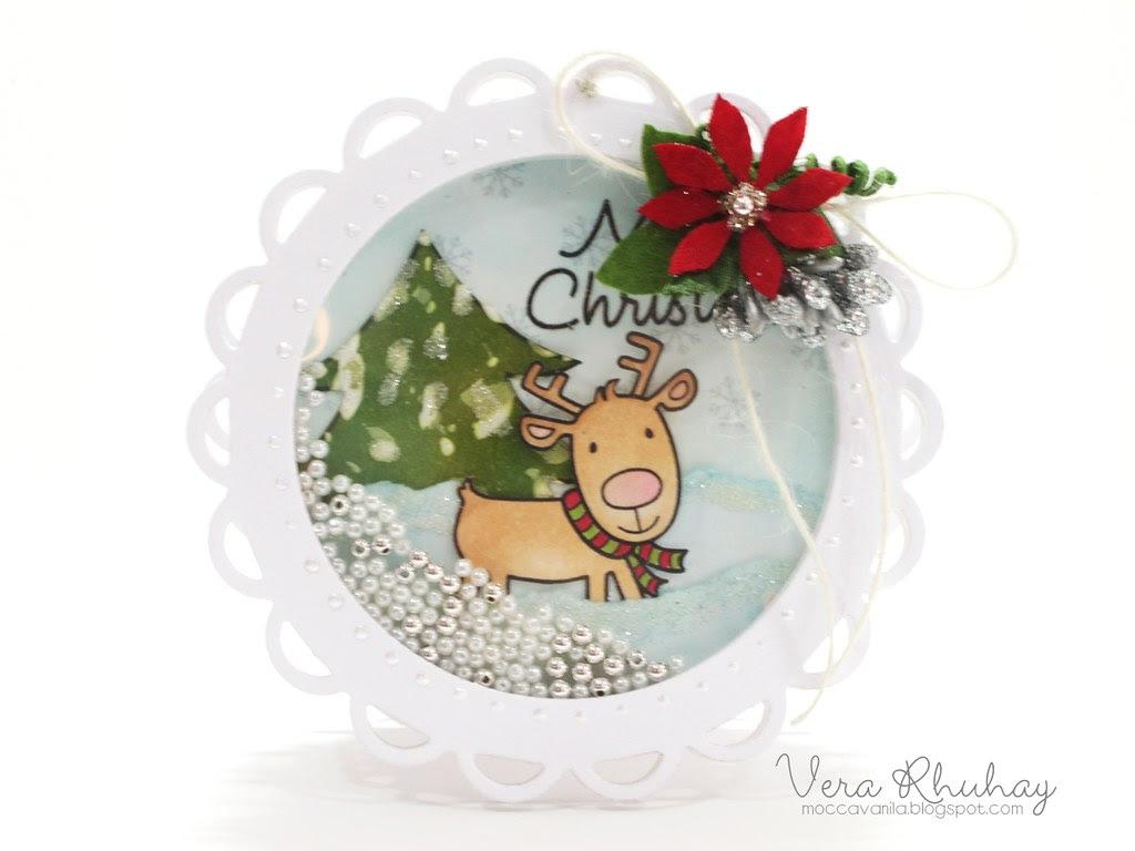 Christmas Shaker Card 01