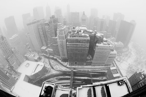 Snowed Out in the Financial District por RBudhu