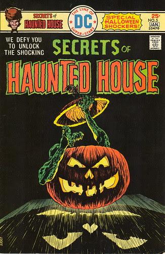 Secrets of Haunted House #5