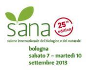 Sana 2013, il 7 settembre inizia la 25ma edizione - AcquistiVerdi.it