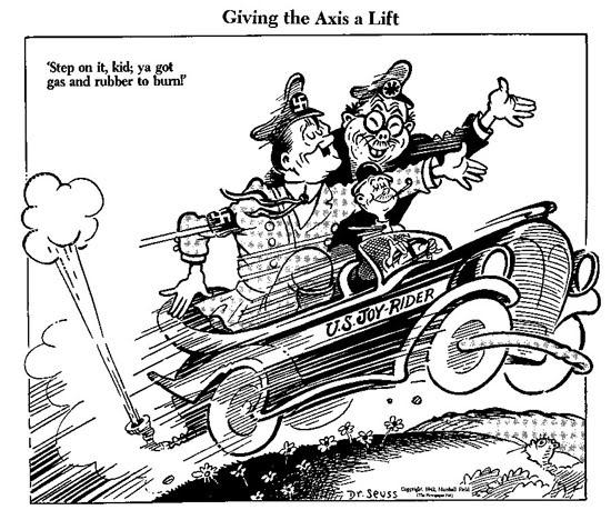 Dr. Seuss Cartoon from 1942.