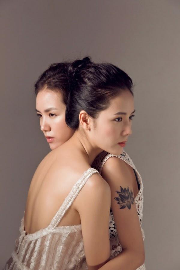 Phương Ly xinh đẹp đã đành, chị gái cô còn là đại mỹ nhân đình đám chẳng kém phần