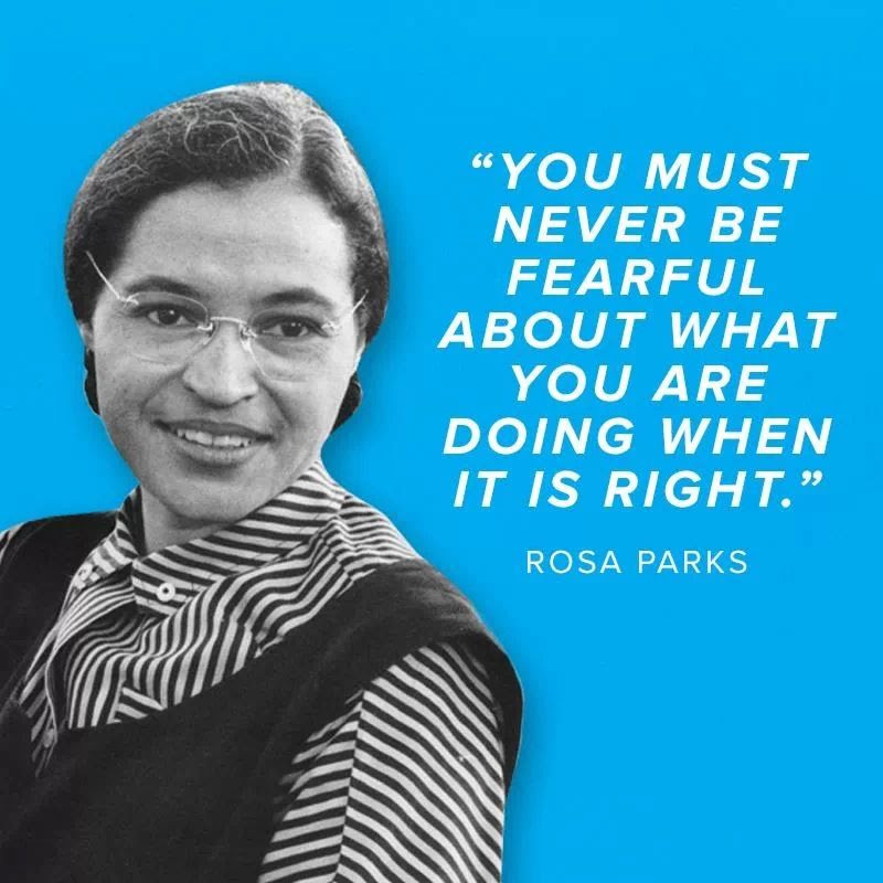Rosa Parks Quotes With Dates. QuotesGram