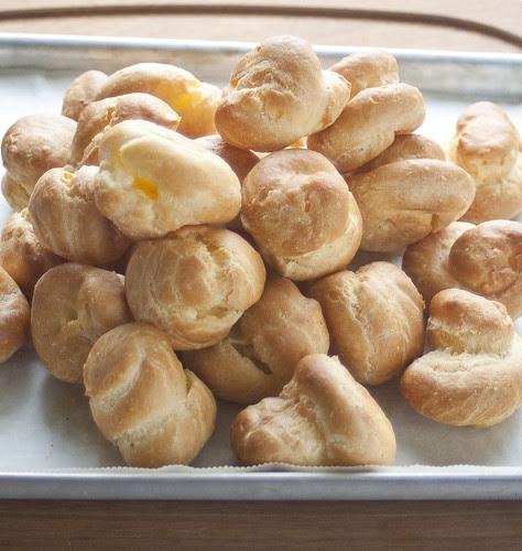unfilled choux puffs SM