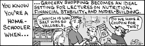 Home Spun comic strip #640