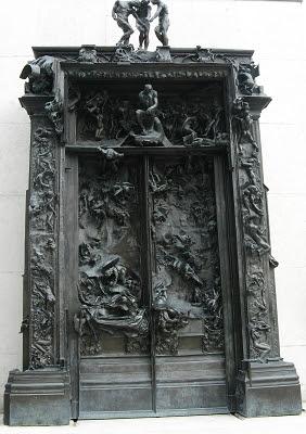 Paris Skulpturengarten Rodin Hölentor Foto Brandt