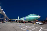 First Boeing 747-8 Freighter Leaves Factory