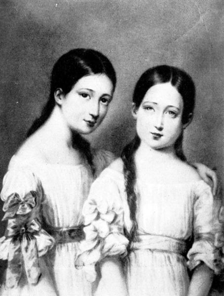 File:L'impératrice Eugénie et sa sœur.jpg