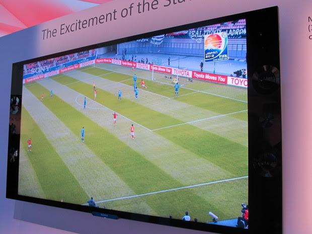 TV 4K de 65 polegadas (Foto: Daniela Braun/G1)