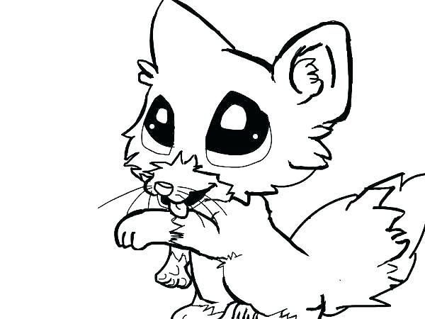 Cute Wolf Coloring Pages at GetColorings.com | Free ...