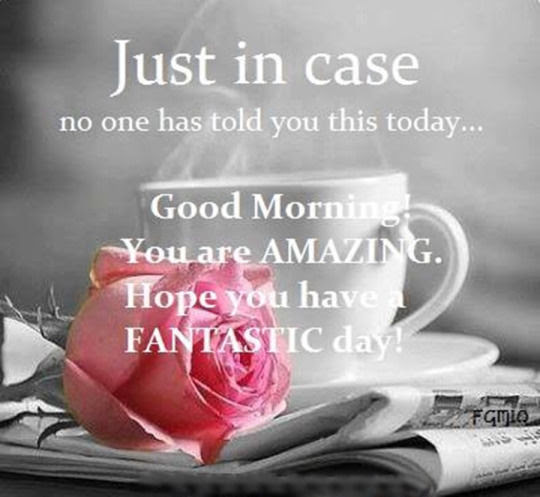 Good Morning You Are Amazing Pictures Photos And Images For