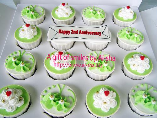 Anniversary Cupcake Ai-sha Puchong Jaya