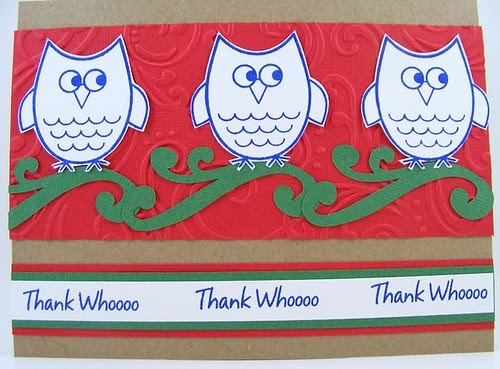 SOL September Thank You Owls Card