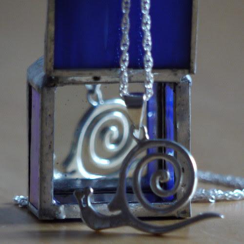 Silver Spiral Snail