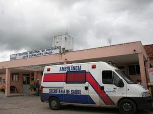 Hospital Regional José Fernandes Salsa, em Limoeiro, no Agreste de Pernambuco (Foto: Reprodução/Site da Secretaria Estadual de Saúde)