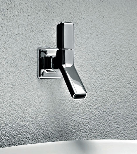 Timeless Chrome Faucets by Zucchetti Kos Faraway Bathroom Collection