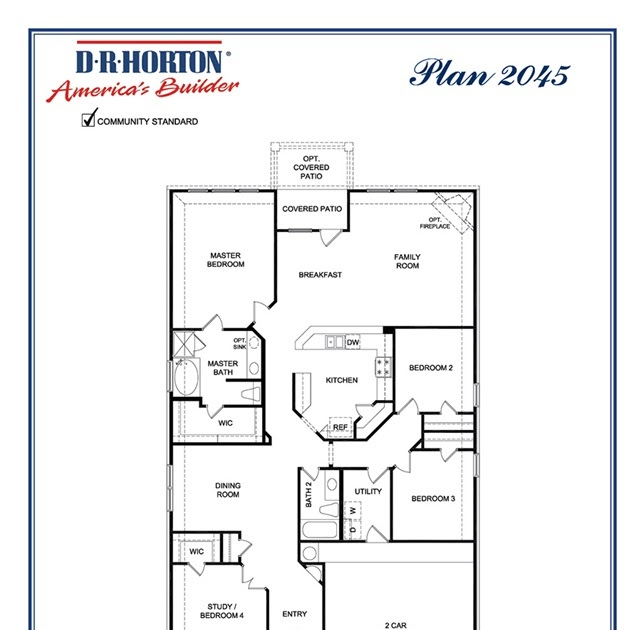 Two Story Kb Homes Floor Plans Archive House Storey