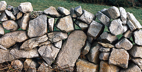'Muro de piedras'. | Iain Colquhoun