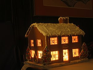 Gingerbread house - The Spirit of Christmas.
