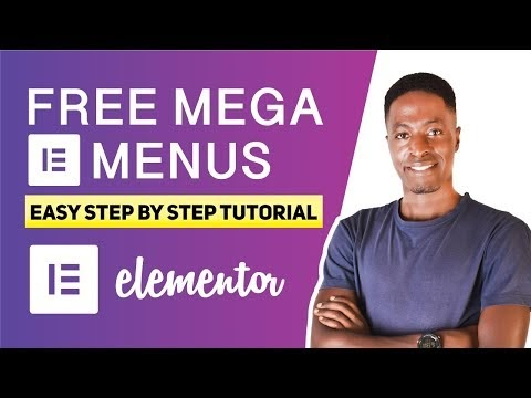 How to Create a Mega Menu in Elementor